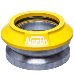 Zintegrowany zestaw słuchawkowy North Star V3 żółty