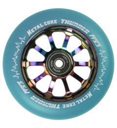 Metalowe koło Core Thunder Rainbow 110 mm niebieskie