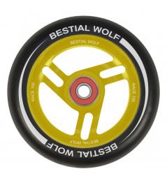 Bestial Wolf Race 100 mm okrąg czarny żółty