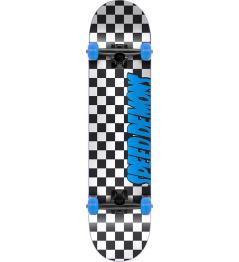 """Deskorolka Speed Demons Checkers 7.25 """"Blue"""