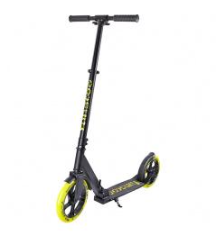 Funscoo 230 mm składany skuter żółty